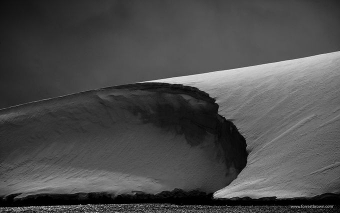 Antarctica by Forrest_Brown - Black And White Landscapes Photo Contest