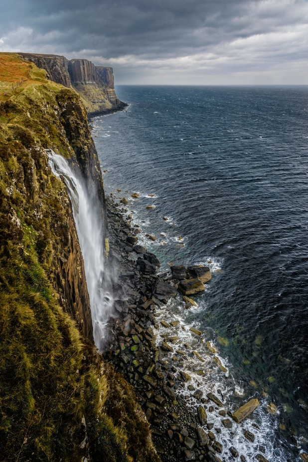 Waterfall at Skye by samuelroniger - Rugged Landscapes Photo Contest