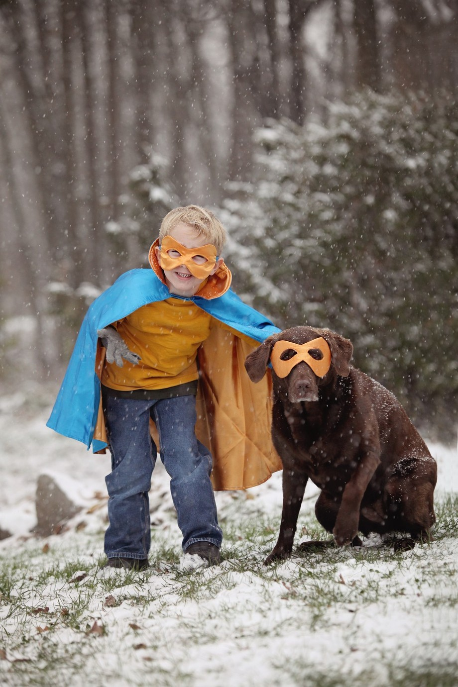 Jacob&Jersey by kimduncanperron - Children and Animals Photo Contest