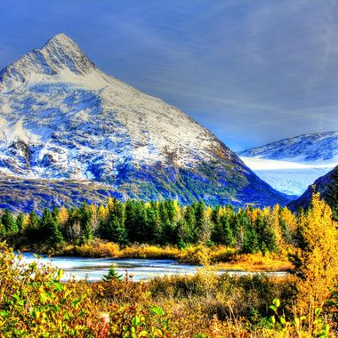 Portage Glacier-Chugach Mountains-Alaska