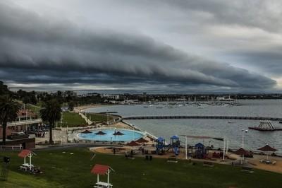 Shelf Cloud over Geelong