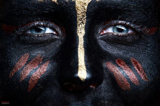 Black Face Bodypaint by RodMeier - My Best Shot Photo Contest Vol 3
