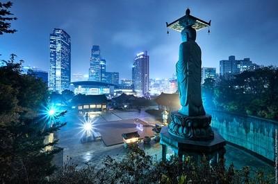 Disco Buddha at Seoul