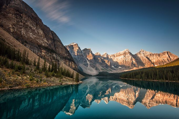 Moraine Lake, Banff Alberta by angie_1964 - Spectacular Lakes Photo Contest