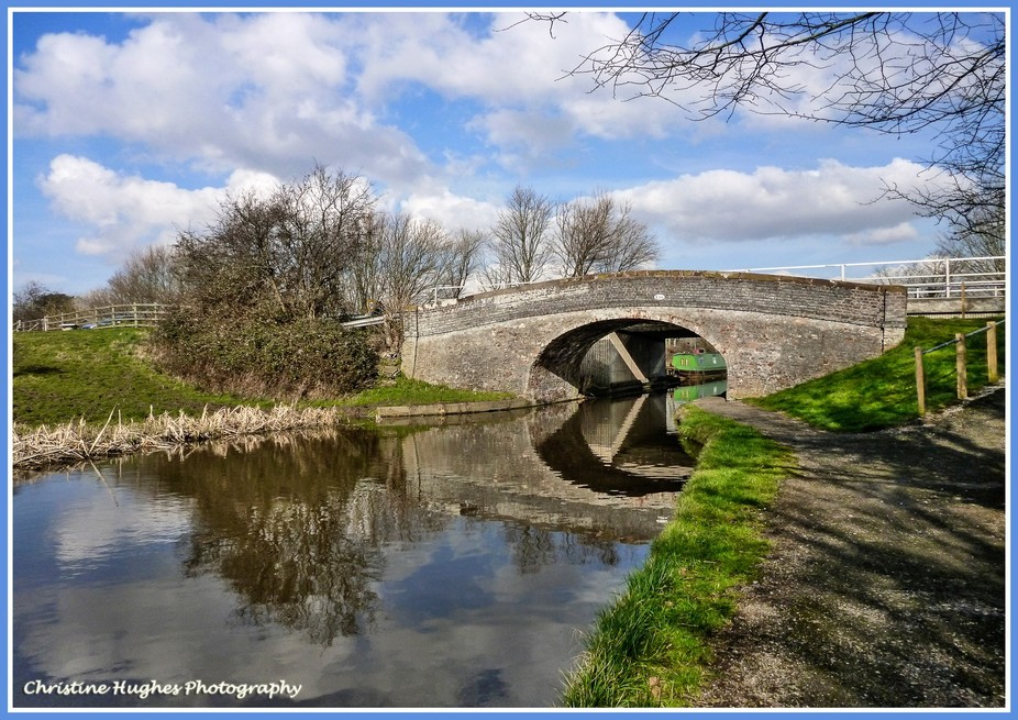THe Canal at Stoak Cheshire