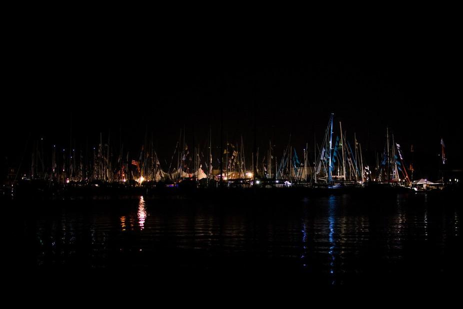 Nightlit Sails