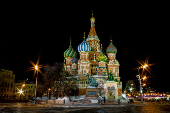 St Basil's Cathedral by kish71 - Iconic Places and Things Photo Contest