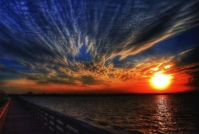 Winter Sunset... In Florida