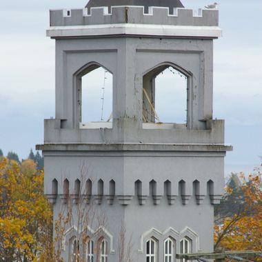 Steeple #1 in Nanaimo - taken from cementary on hill - Oct 2006