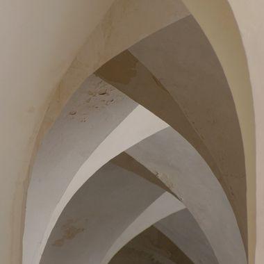 Mosque arches, Bukhara, Uzbekistan
