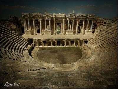 Ancient Theatre Of Hierapolis, Turkey