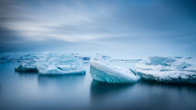 Iceberg Lagoon by RobKennedyPhoto - Long Exposure Views Photo Contest