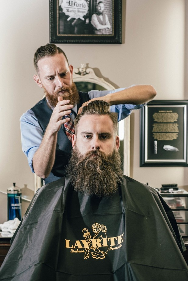Olde World Barber by GoodmanPhotog - The Face Of A Man Photo Contest