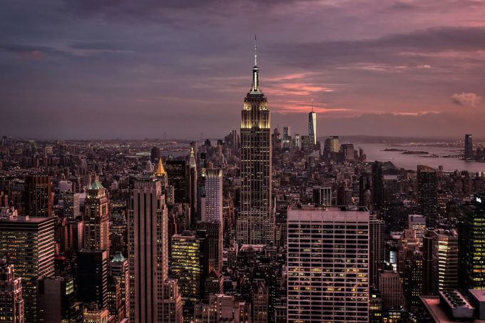 NYC nightfall by AlanJ - New York Photo Contest