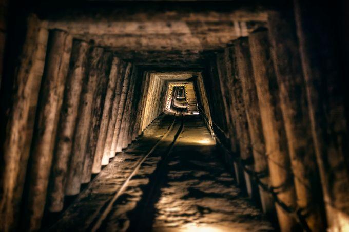 Salt mine by zarkopiljak - Shooting Tunnels Photo Contest