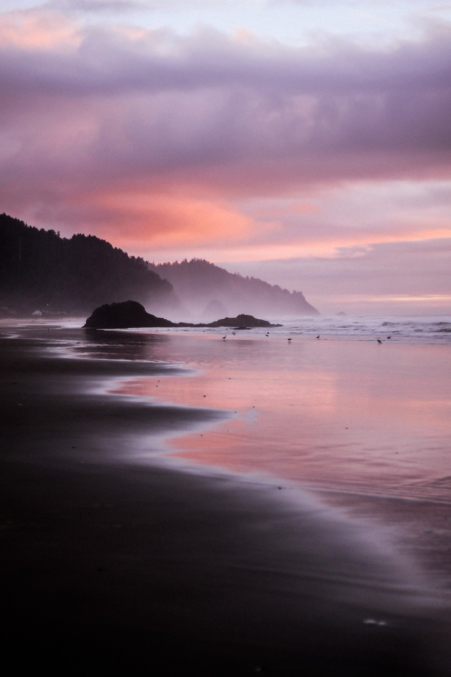 Sunset at Cannon Beach by coleito