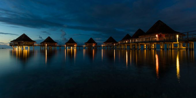 Tahitian awakenings by TrueNorthImages - Color In The Night Photo Contest