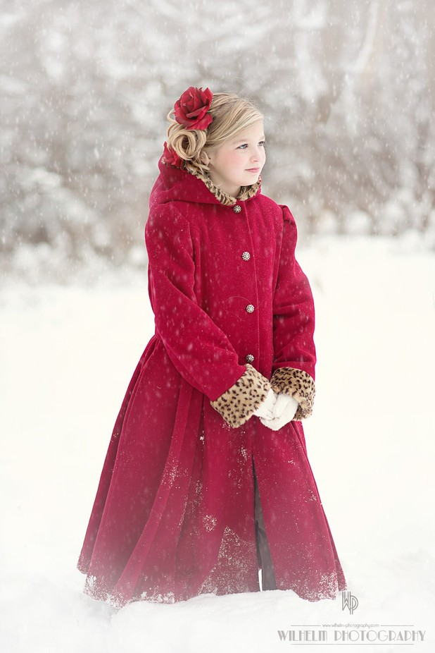 Red coat by tonyawilhelm - 500 Outfits Photo Contest