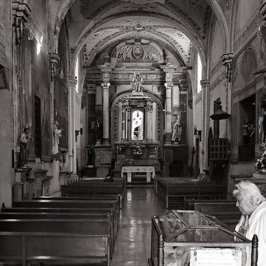 In the church