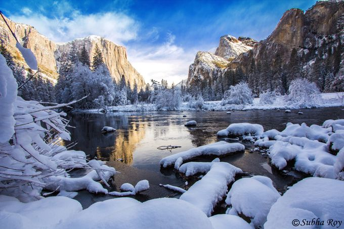 Reflections - Yosemite National Park by Subharoy - World Expeditions Photo Contest