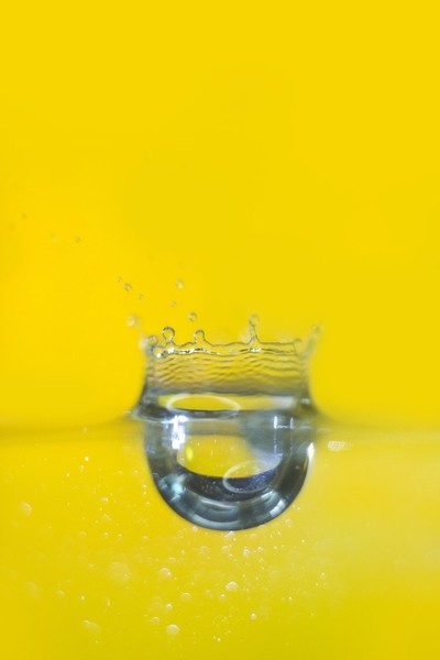 water drops.