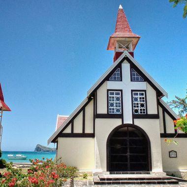 The Mauritius Collection - Notre Dame Auxiliatrice Chapel, Cape Malheureux, Mauritius