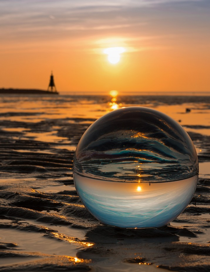 Cuxhaven Watt by dirkrichter - Composing With Circles Photo Contest