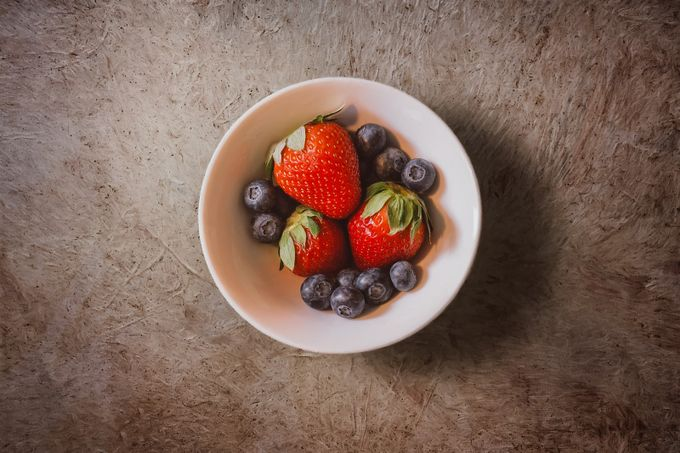 Strawberries and Blueberries by scottnorrisphotography - Delicious Photo Contest