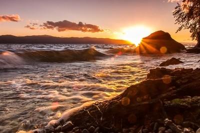 Flathead Lake Sunset