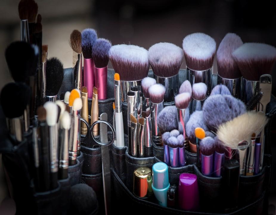 A Make-Up Artist's Kit