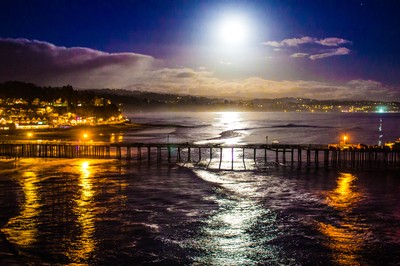 Moon Over Capitola