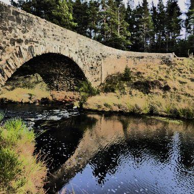 Reflections at the Bridge of Dava 24/01/16