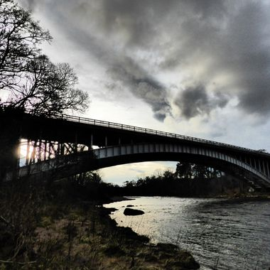 A grey day @ the Findhorn Bridge 24/01/16