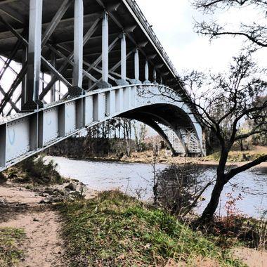 Bendy Girders @ the Findhorn Bridge 24/01/16