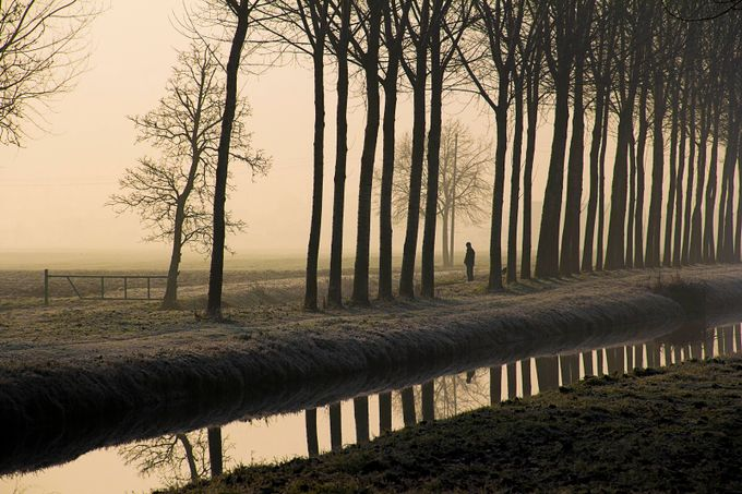 Lost by Dave_Bomb - People In Large Areas Photo Contest