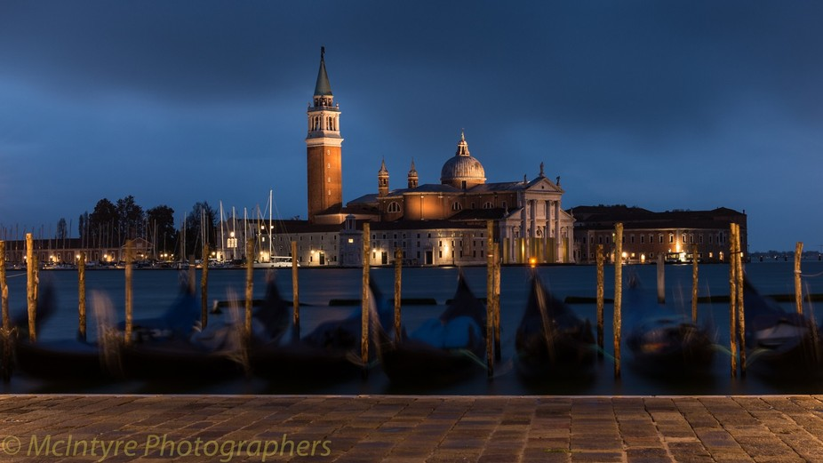Early morning shoot on recent visit to Venice of San Giorgio maggiore from San Marco water edge