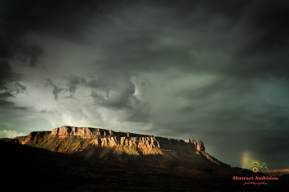 This was the morning after a large rainstorm passed through Fisher Towers Moab, Utah