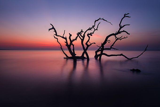 Jekyll Island 2014 Calm sunrise 1.1 by rivarologallery - Freshmen 2016 Photo Contest Vol 2