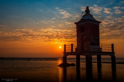 The Old Lighthouse at sunrise