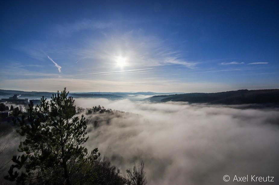 Fog over Siegen
