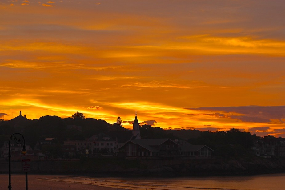 A Golden Morning Sunrise