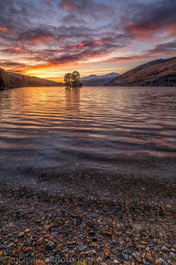Spry Island by LochviewPhotography - Sunrise Or Sunset Photo Contest