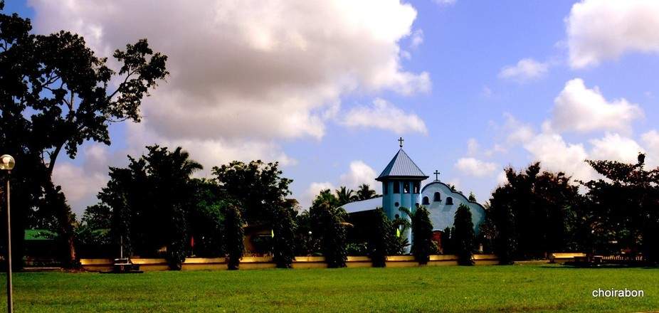 The church of Lilo-an, Malinao, Aklan, Philippines