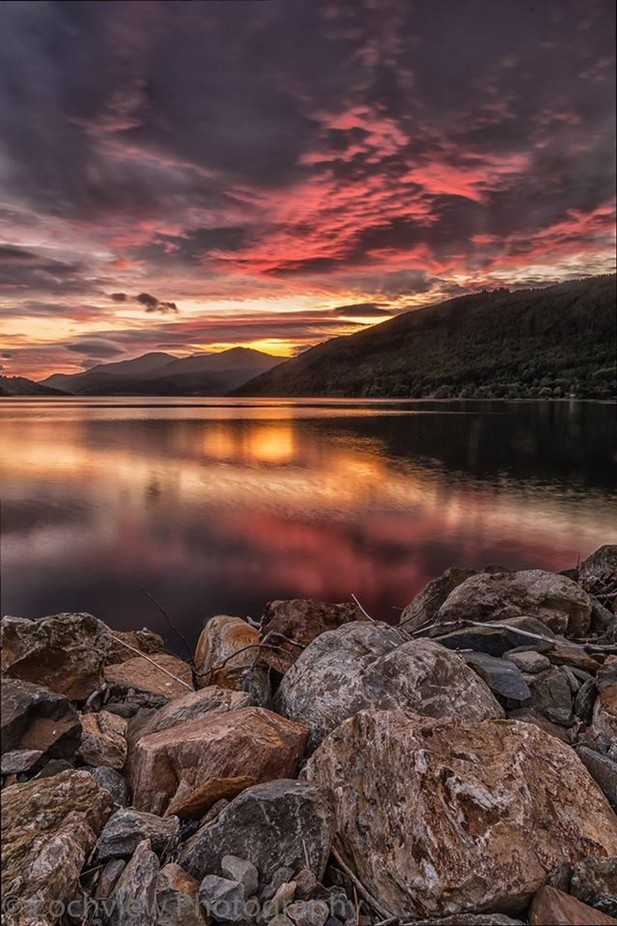 Loch Tay ,, by LochviewPhotography - Boulders And Rocks Photo Contest