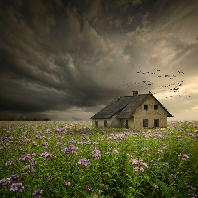 abandoned homestead by zenaj - Around the World Photo Contest By Discovery