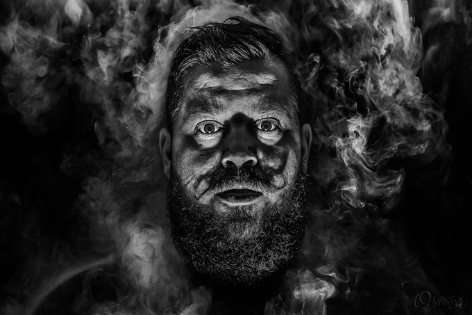 Mustache descaide... by ohnitsoga - Male Portraits Photo Contest