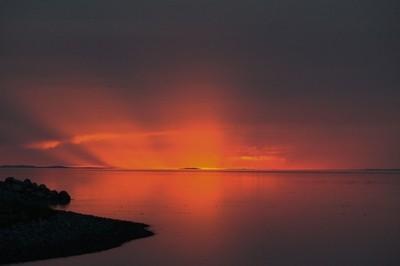 Great Salt Sunset