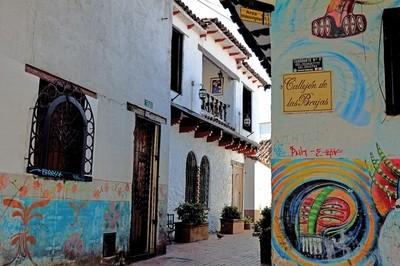 Colombia Bogotà 2012. colored walls
