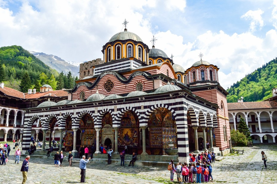Founded in the 10th century, the Rila Monastery is regarded as one of Bulgaria's most im...