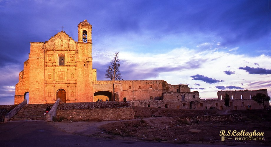 Driving through Mexico in 1980, I shot this image on the road to Oaxaca just as the sun was setting (originally on Kodachrome).